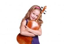 Meisje met viool