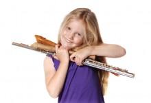Meisje met fluit